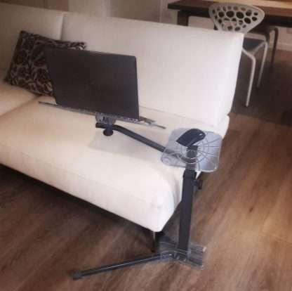Usa il notebook sul divano con il supporto ergonomico Lounge-tek