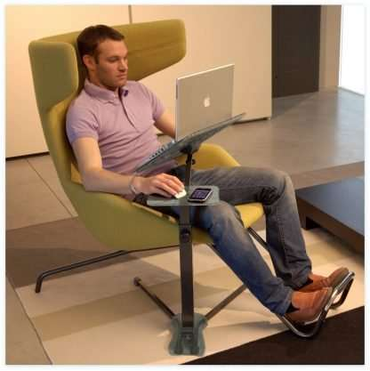 The ergonomic Laptop stand fully adjustable