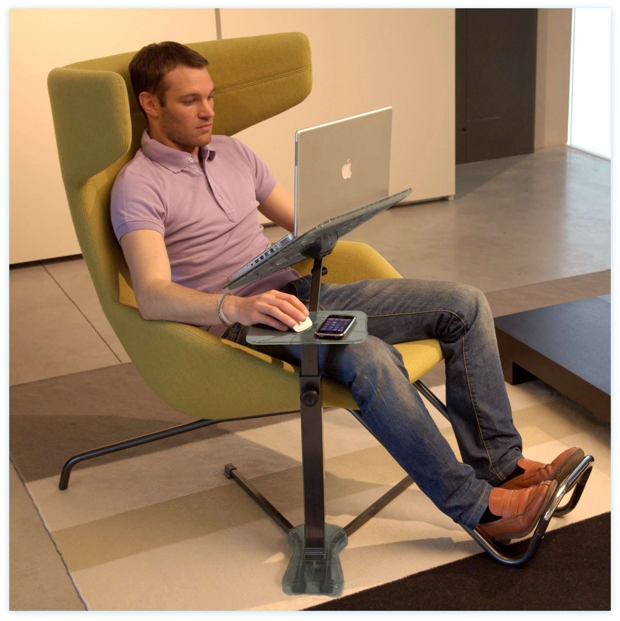 ... The Ergonomic Laptop Stand Fully Adjustable