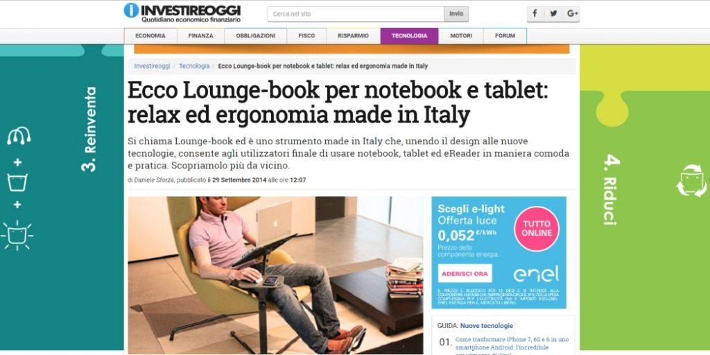 investire oggi recensione lounge-book