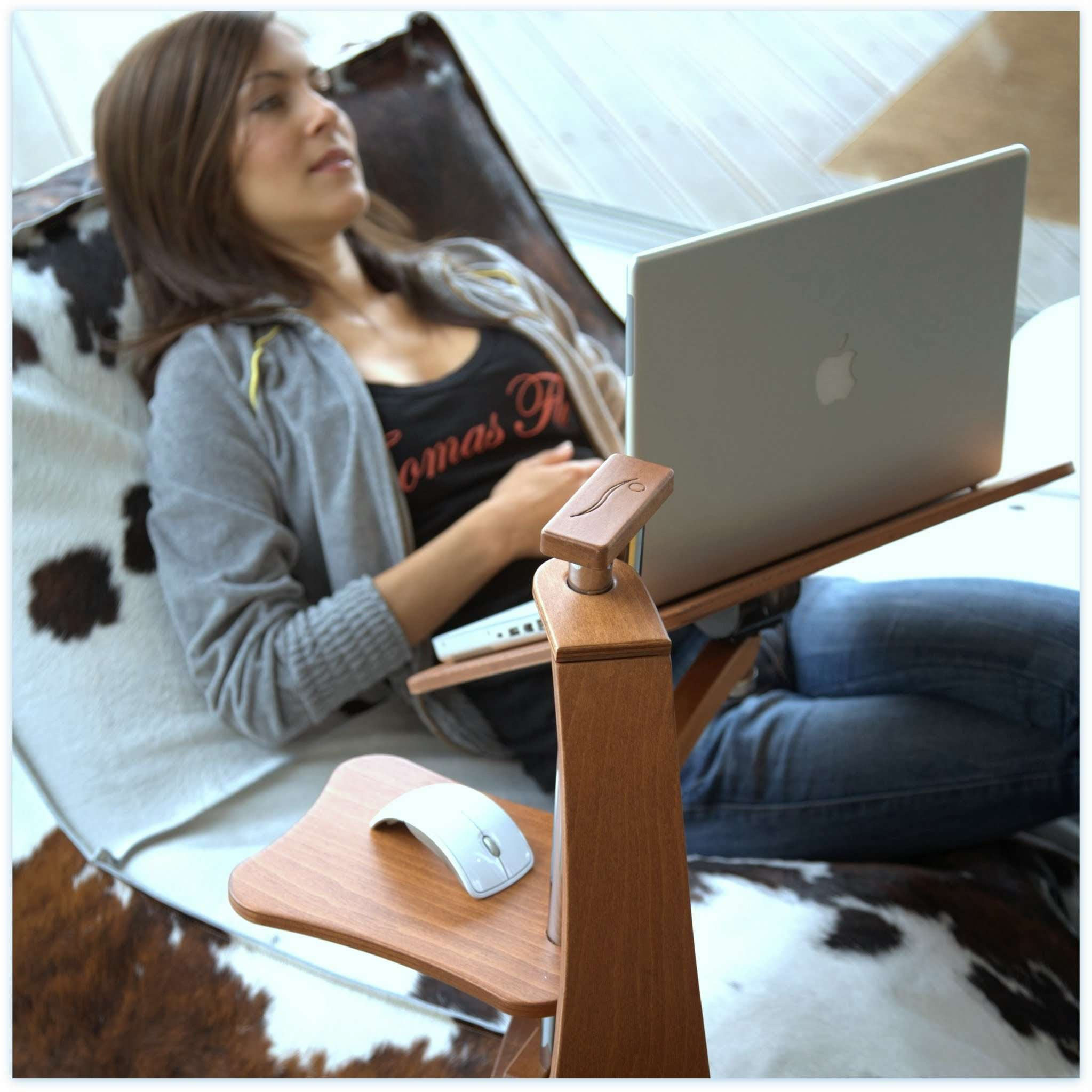 Loungwood, An Armchair As A Perfect Workplace. For Home Workers