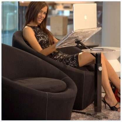 Laptophalterung Lounge ergonomisch