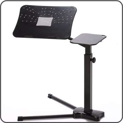 Laptop support ergonomic to improve features of mobile devices