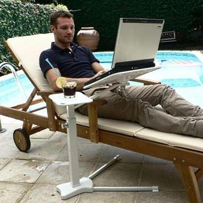 laptop outdoor recliner