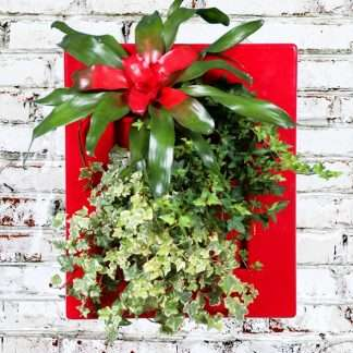 wallmount flowerpot for green decor