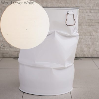 small table white metal wood