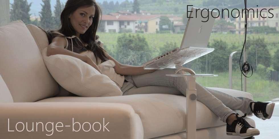 Laptoptisch höhenverstellbar für Bett, Sessel, Sofa, Liege