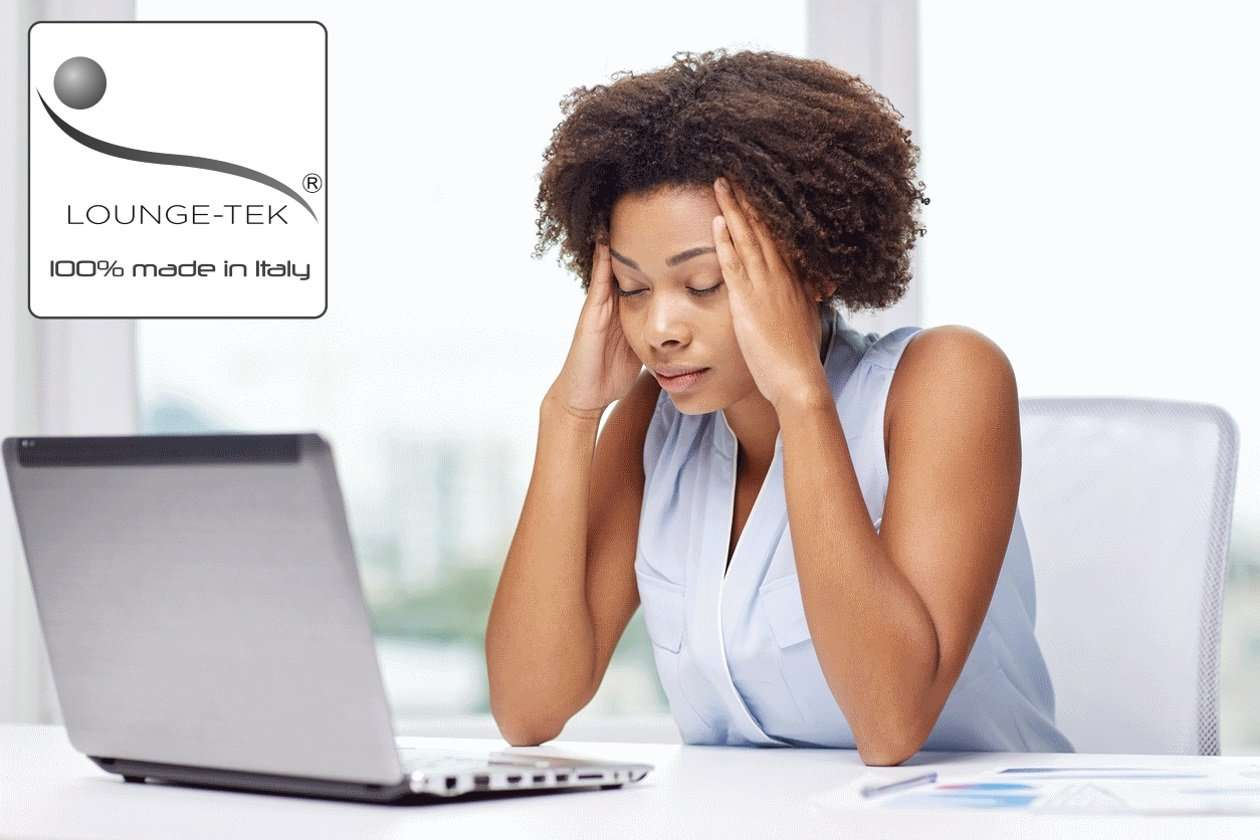 Computer stress for home workers in the summer season.